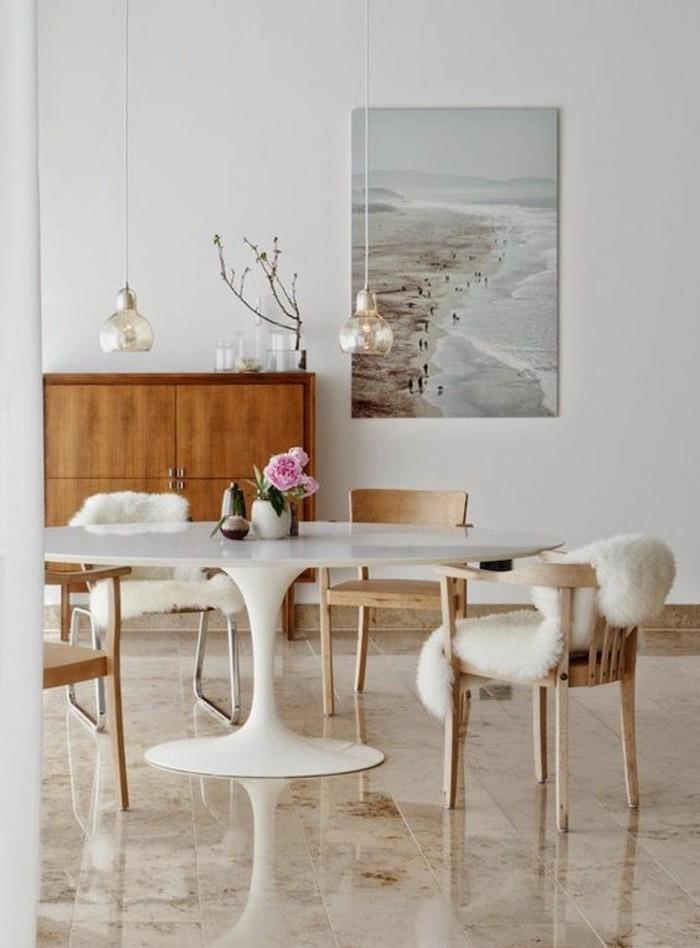 Table De Cuisine Ronde Blanche Conforama