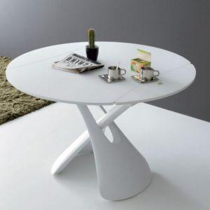 Table De Cuisine Ronde Blanche Ikea