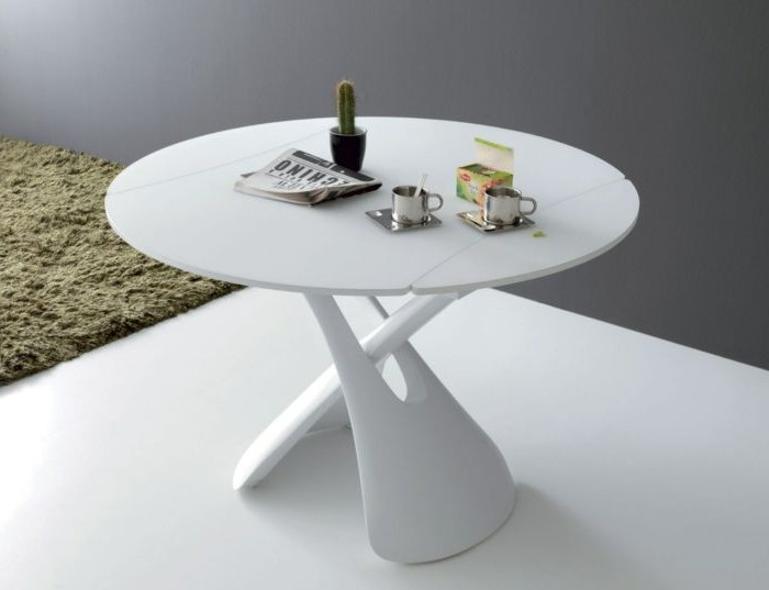 table de cuisine ronde blanche ikea cuisine id es de. Black Bedroom Furniture Sets. Home Design Ideas