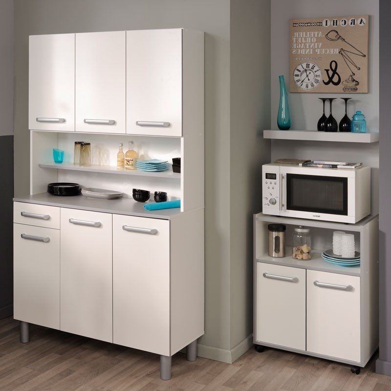 buffet de cuisine en bois blanc cuisine id es de. Black Bedroom Furniture Sets. Home Design Ideas