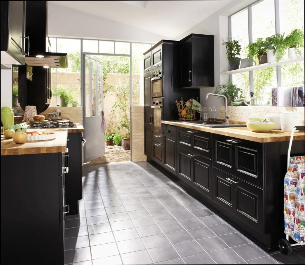 Buffet de cuisine noir et bois cuisine id es de for Buffet de cuisine en bois