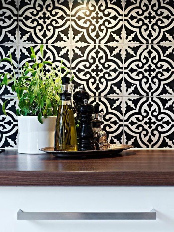 Carrelage murale pour cuisine blanc cuisine id es de - Carrelage cuisine murale ...