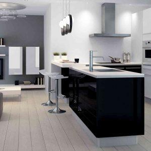 Carrelage sol pour cuisine blanche carrelage id es de for Carrelage pour cuisine blanche