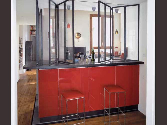 Cloison amovible cuisine am ricaine cuisine id es de for Decoration maison cuisine americaine