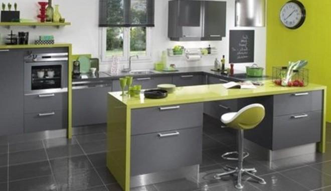 Peinture pour meubles cuisine photos de conception de maison for Quelle couleur pour ma cuisine