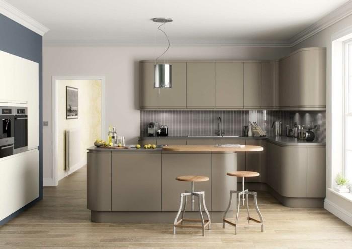 Couleur de peinture pour cuisine rustique cuisine for Decoration de peinture pour cuisine