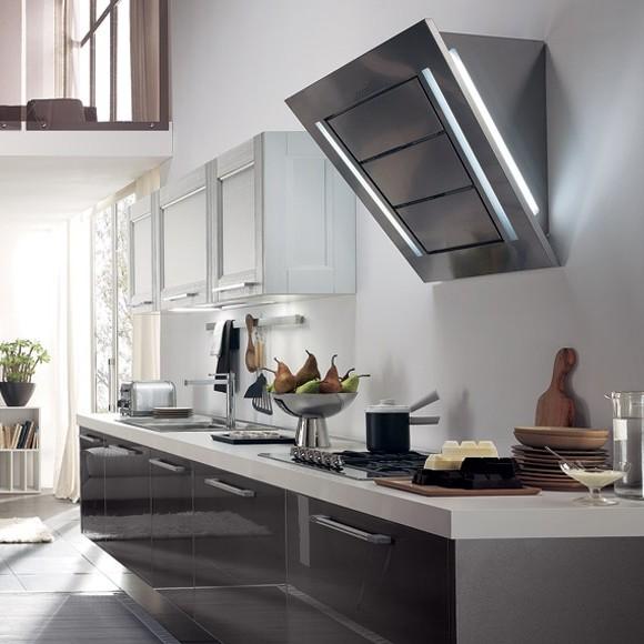 Hotte de cuisine inclin e 60 cm cuisine id es de for Hotte cuisine inclinee