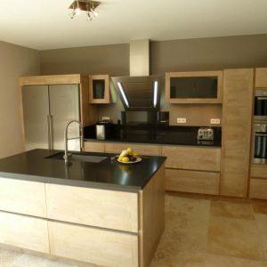 ilot central cuisine bois brut cuisine id es de d coration de maison w0bbkq7n8q. Black Bedroom Furniture Sets. Home Design Ideas