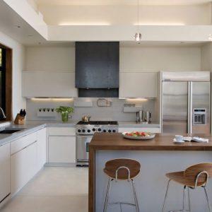 Meuble cuisine ouverte cuisine id es de d coration de for Meuble bar cuisine ouverte