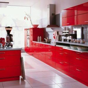 Meuble Cuisine Rouge Ikea