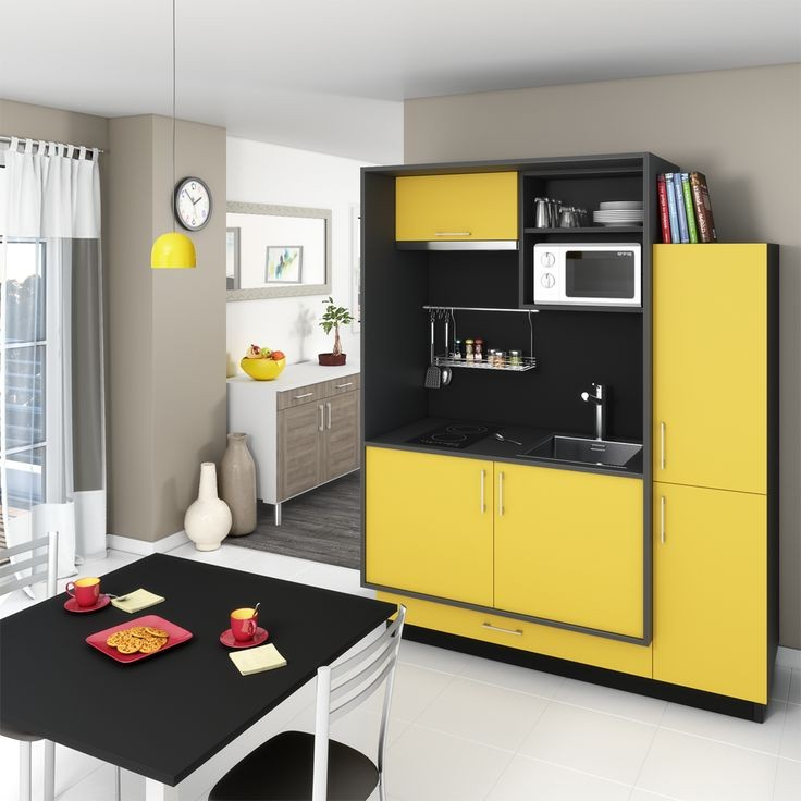 meuble de cuisine pour mini four et micro onde cuisine. Black Bedroom Furniture Sets. Home Design Ideas