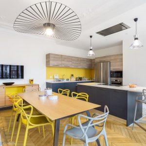 Modele cuisine ouverte salon cuisine id es de for Amenagement cuisine 8m2