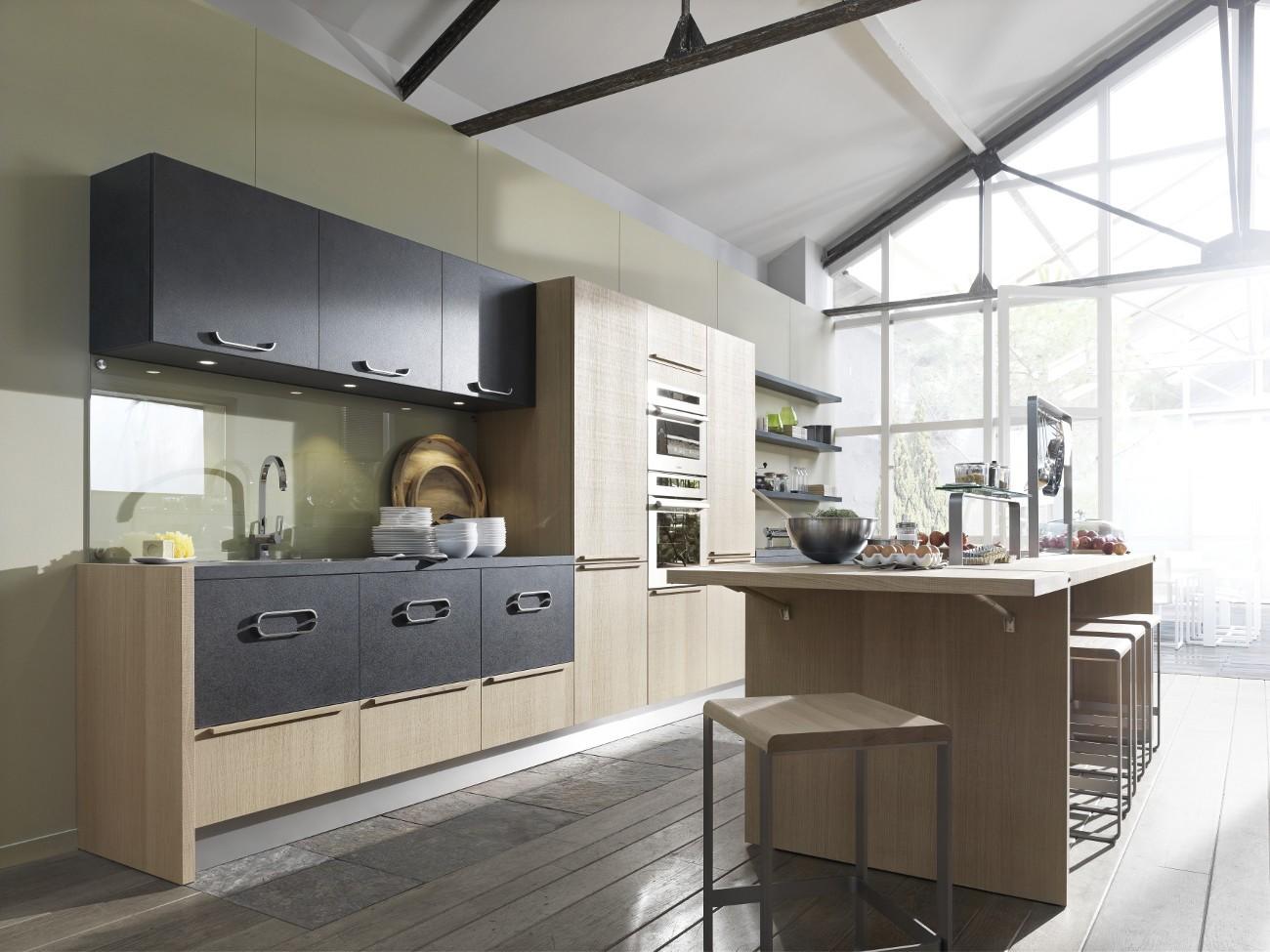 Modele de cuisine ouverte avec ilot cuisine id es de for Modele cuisine ouverte