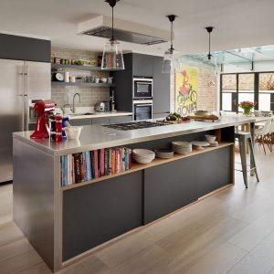 Modele carrelage salon cuisine cuisine id es de for Modele cuisine ouverte salon