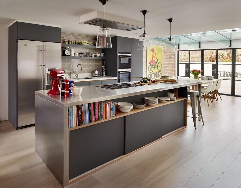 modele de cuisine ouverte sur salon cuisine id es de. Black Bedroom Furniture Sets. Home Design Ideas