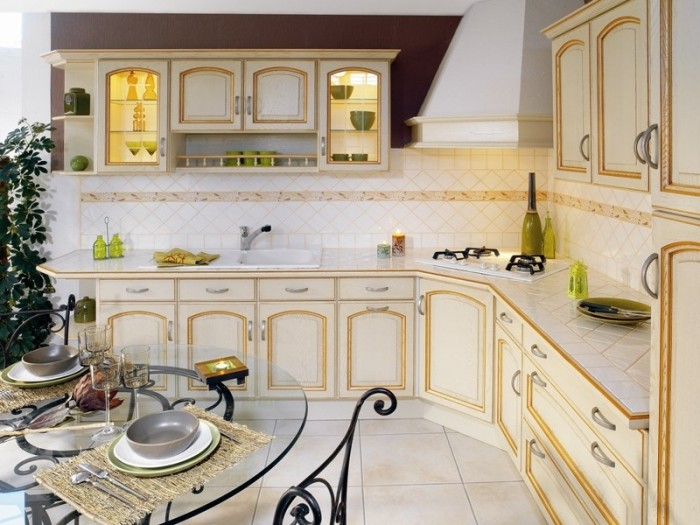 Deco cuisine provencale cheap dcoration cuisine style for Amenagement cuisine provencale