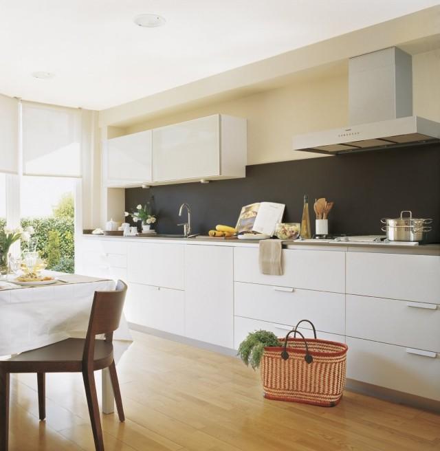Peinture pour cuisine en bois photos de conception de maison for Peinture cuisine bois