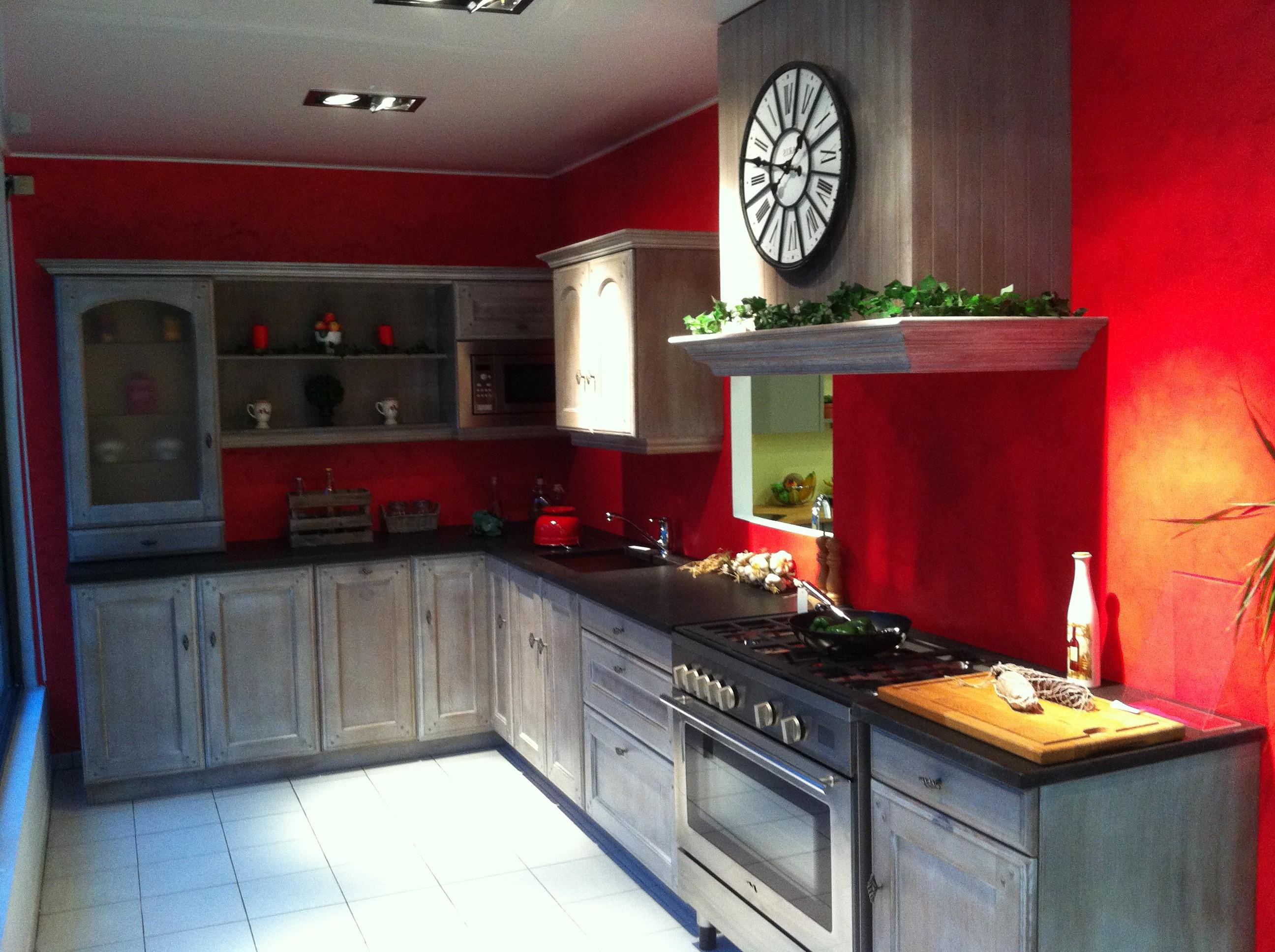 Peinture murale pour cuisine rouge cuisine id es de for Cuisine peinture rouge