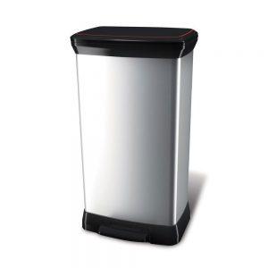 Poubelle De Cuisine Inox 50 Litres
