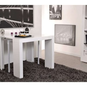 table console cuisine conforama cuisine id es de. Black Bedroom Furniture Sets. Home Design Ideas