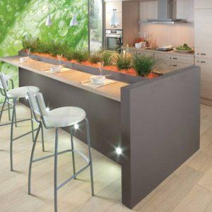Idee credence cuisine originale cuisine id es de for Table extensible 4m