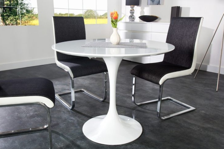 Table de cuisine ovale pied central cuisine id es de - Table de cuisine pied central ...