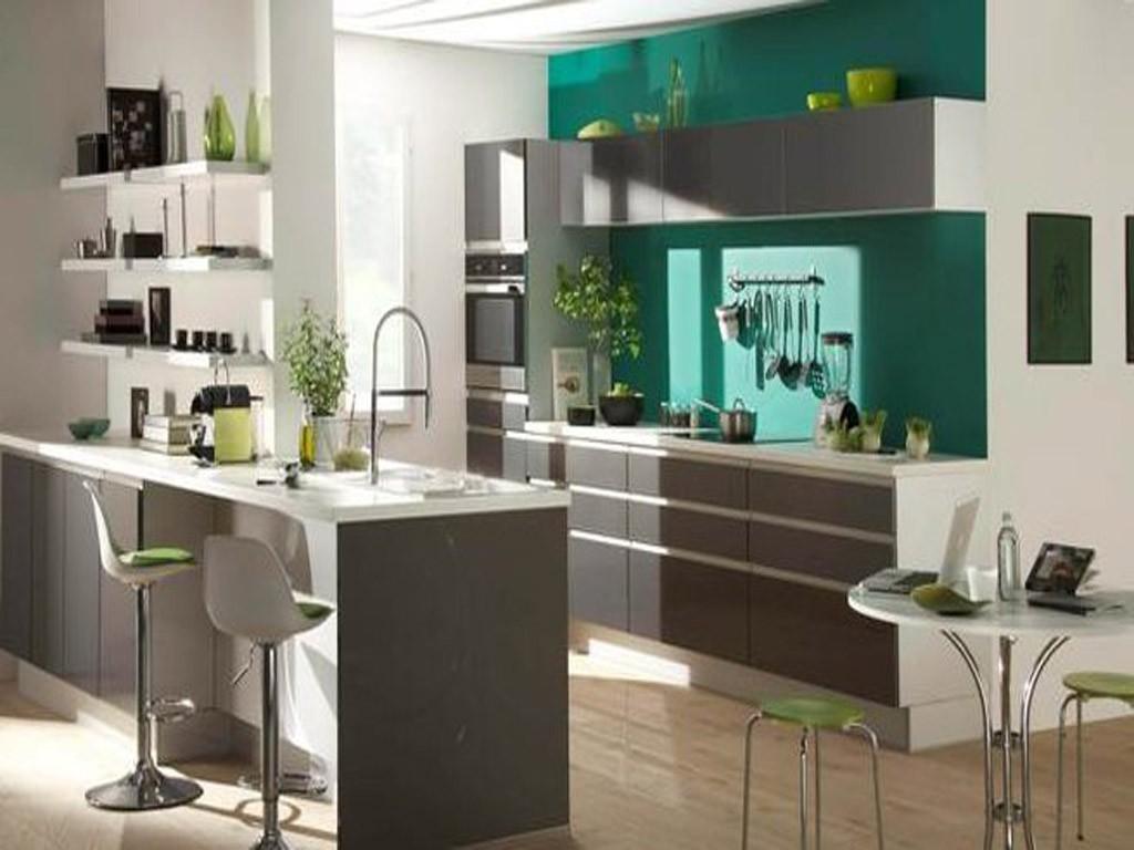 Couleur de peinture pour cuisine tendance 2016 cuisine for Decoration de peinture pour cuisine
