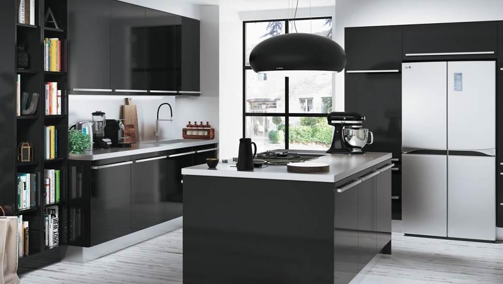 couleur peinture pour cuisine noire cuisine id es de