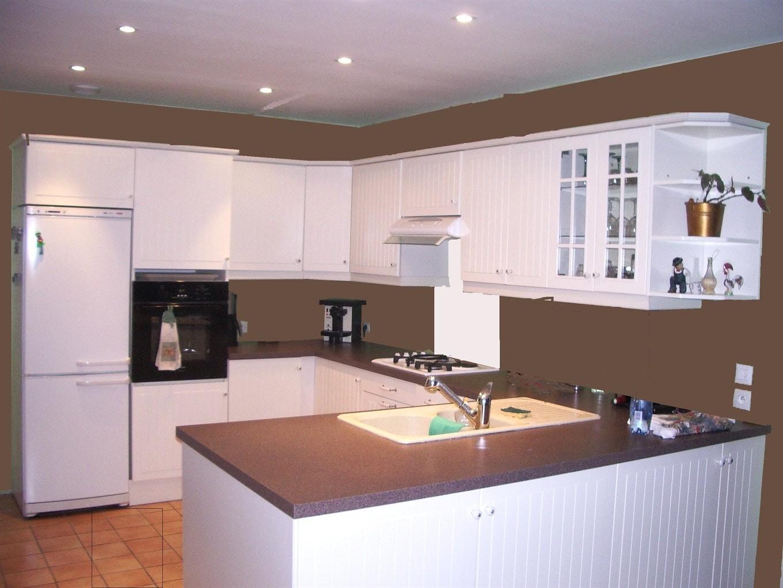 Couleur peinture pour cuisine rustique cuisine id es - Peinture pour cuisine ...