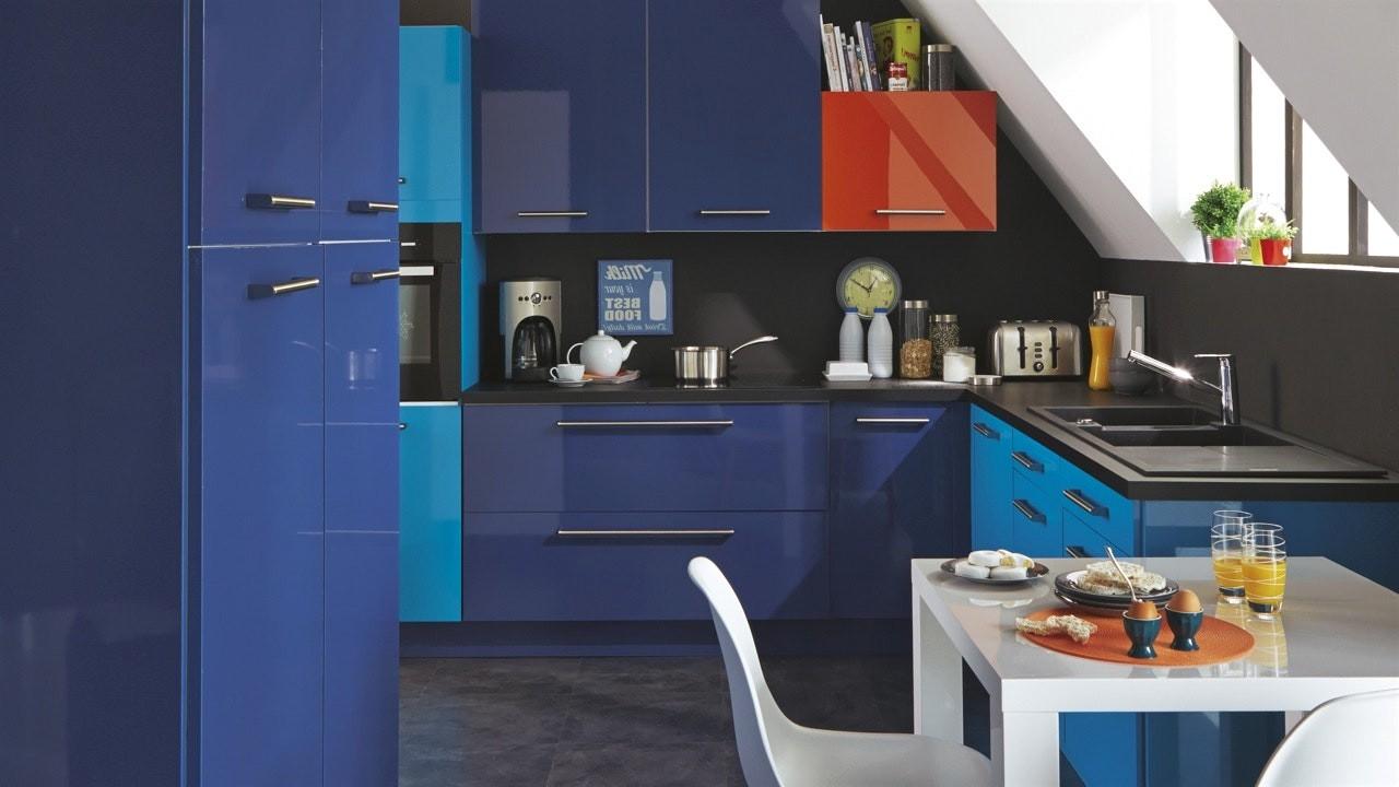 Couleur peinture pour cuisine sombre cuisine id es de for Decoration de peinture pour cuisine