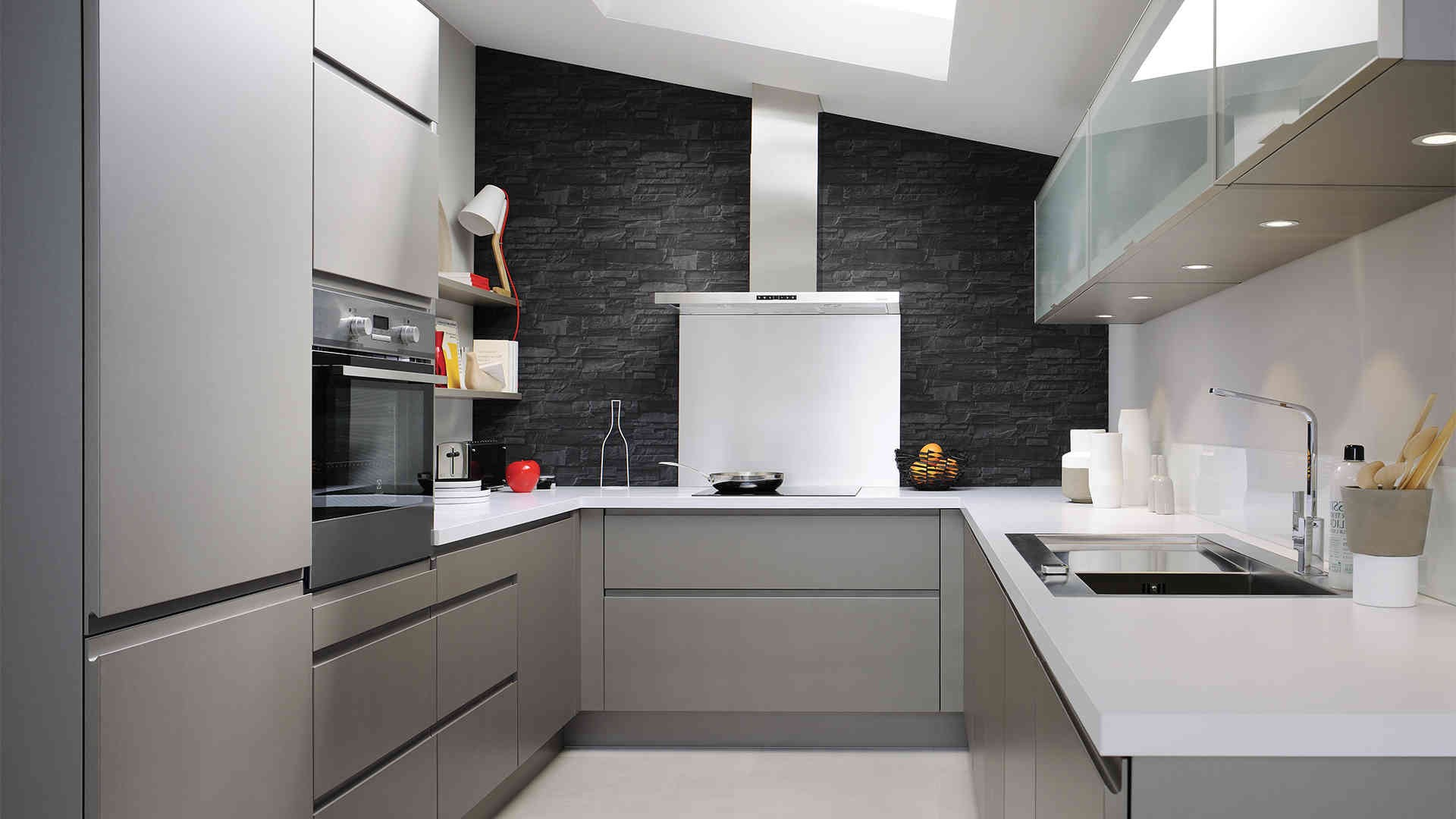 Cuisine blanche mat ou brillante cuisine id es de for Cuisine 2018 blanche