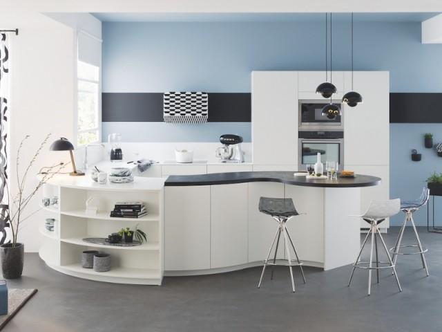 cuisine contemporaine en bois massif mobalpa cuisine. Black Bedroom Furniture Sets. Home Design Ideas