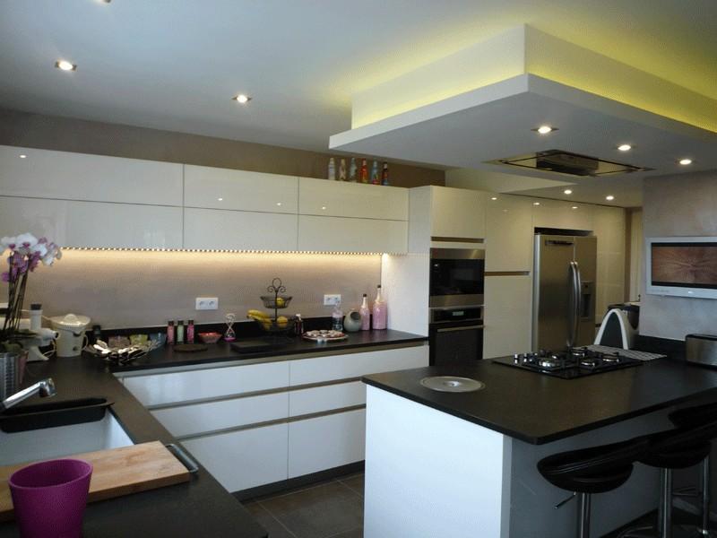 Eclairage Cuisine Faux Plafond