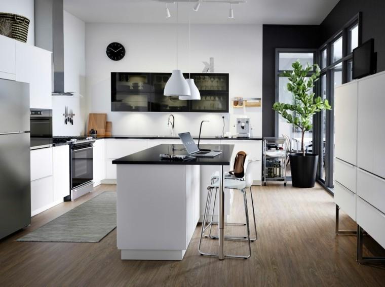 id e petit ilot central cuisine cuisine id es de. Black Bedroom Furniture Sets. Home Design Ideas