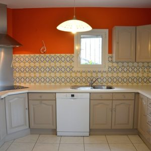 peinture pour repeindre meuble de cuisine en bois