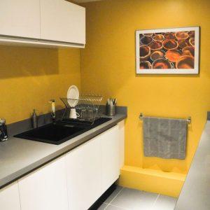 Modele de peinture pour mur de cuisine cuisine id es for Peinture murale pour cuisine