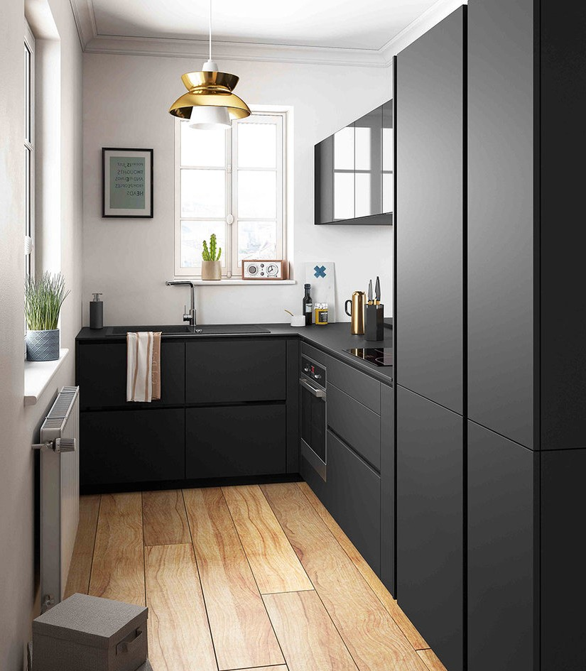 modele de petite cuisine design cuisine id es de. Black Bedroom Furniture Sets. Home Design Ideas