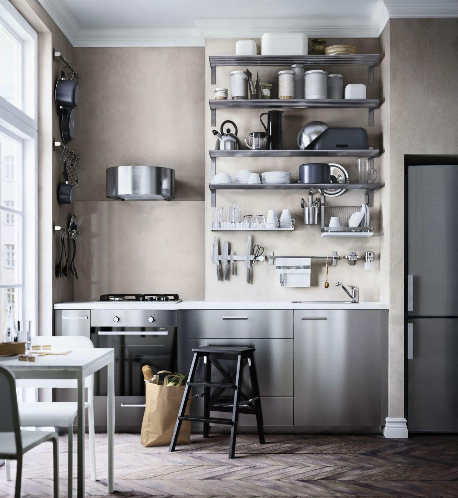 petite tag re murale cuisine cuisine id es de. Black Bedroom Furniture Sets. Home Design Ideas