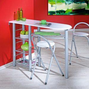 table cuisine avec tabouret encastrable cuisine id es de d coration de maison a6lyaoqlzb. Black Bedroom Furniture Sets. Home Design Ideas