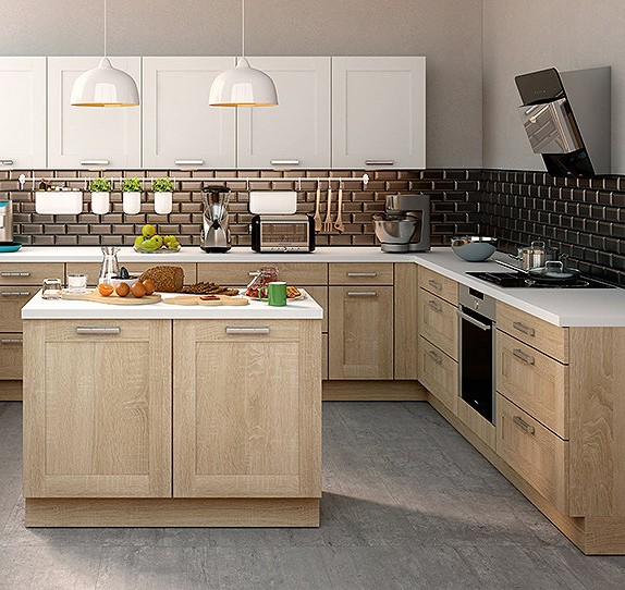 Poign e de porte cuisine but cuisine id es de for Decoration porte de cuisine
