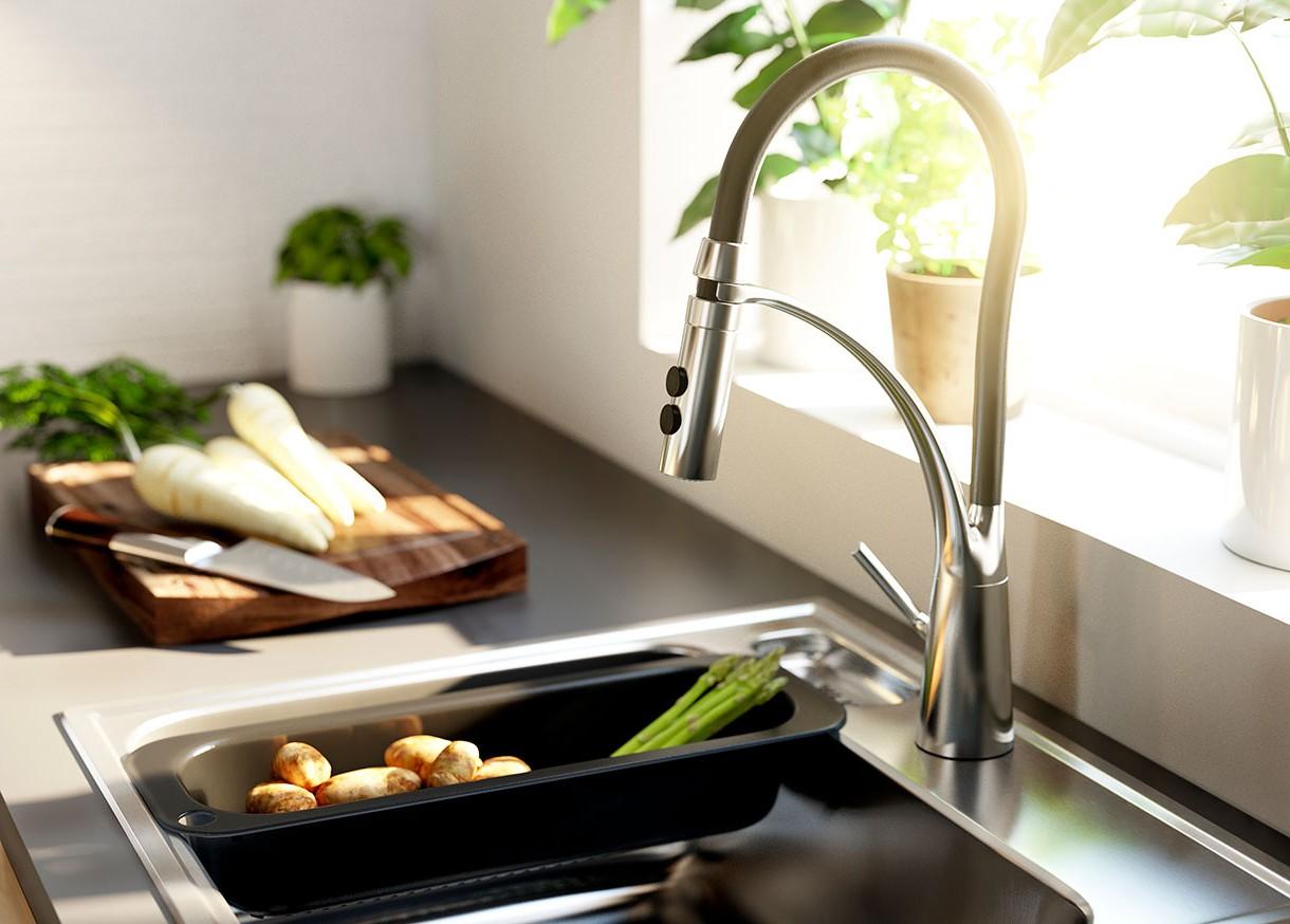 Robinet De Cuisine Avec Douchette Ikea