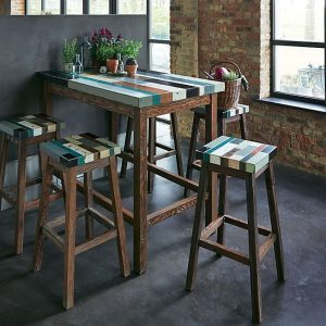 Table Bar Rectangulaire Cuisine