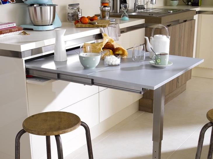 Table Cuisine Escamotable Design