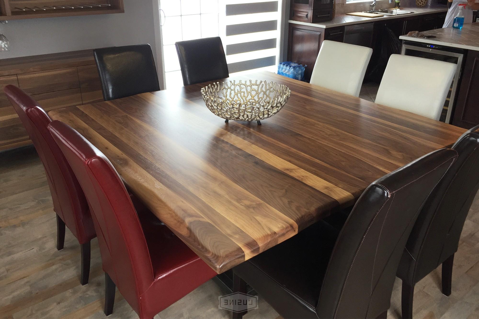 Table De Cuisine Carrée En Bois