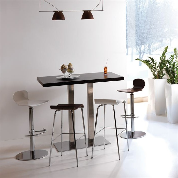 Table de cuisine design table cuisine design meuble for Table haute cuisine industrielle