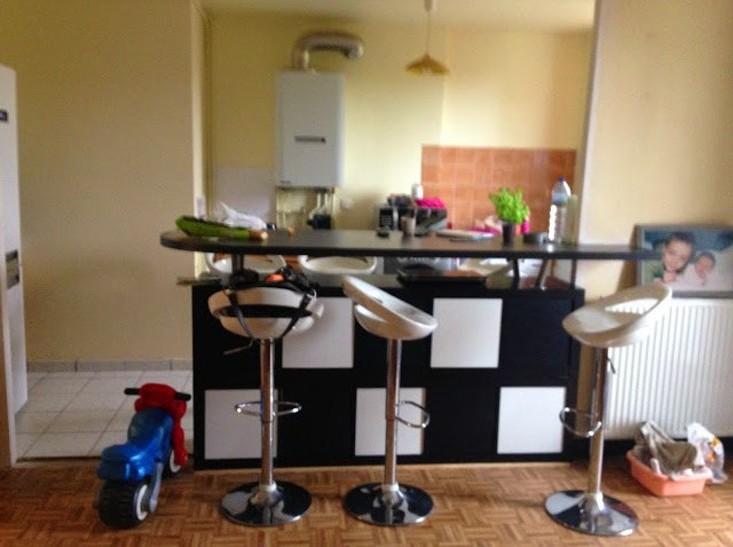 table haute cuisine alinea excellent alinea chaise bar. Black Bedroom Furniture Sets. Home Design Ideas