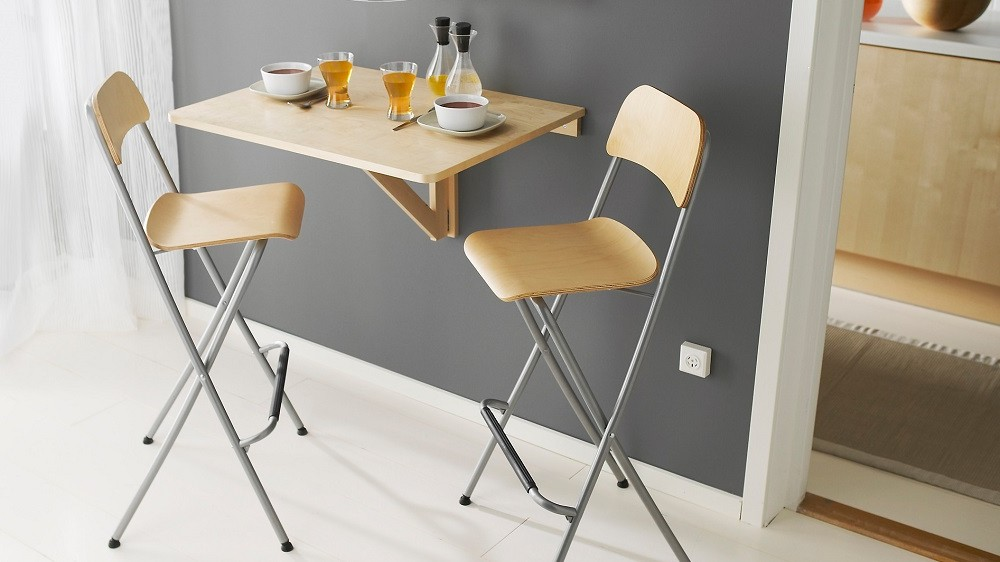table haute de cuisine avec tabouret ikea cuisine. Black Bedroom Furniture Sets. Home Design Ideas