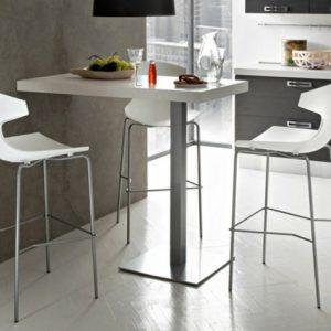 Table haute avec tabouret de cuisine cdiscount cuisine for Table haute avec tabouret pour cuisine