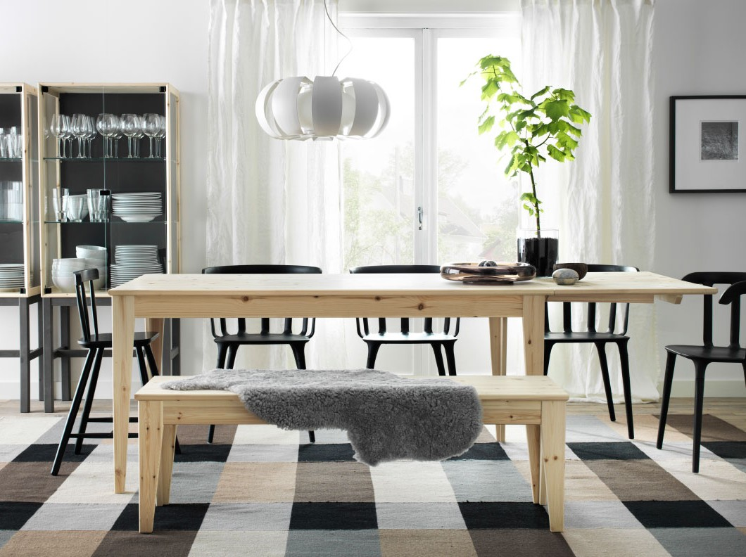 tables et chaises cuisine ikea cuisine id es de. Black Bedroom Furniture Sets. Home Design Ideas