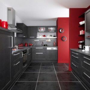 Idee Peinture Pour Cuisine Rouge